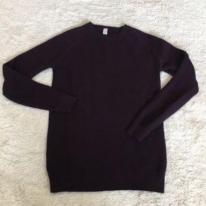 LULULEMON Dark Purple Sweater